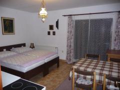 Malý apartmán - přízemí