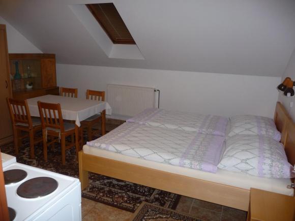 Malý apartmán podkroví, obytná kuchyň